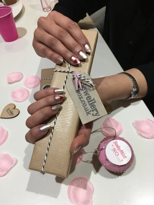 Nail art in London - So...? Fragrance X Jewellery Box