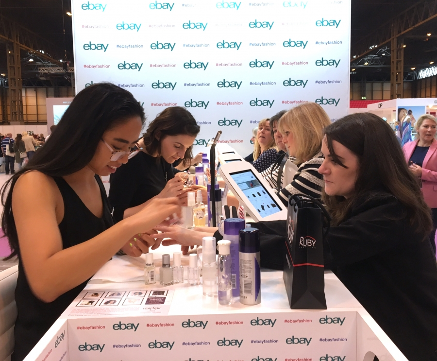 EVENT This Morning Live At The NEC Birmingham With EBay Pop Up Nail Bar